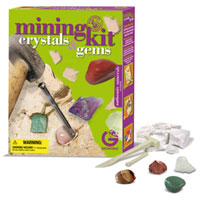 Crystals & Gems Mining Kit