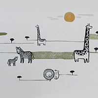Safari Wall Graphics