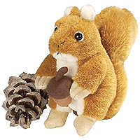 Audubon Red Squirrel with Sound - 6 inch
