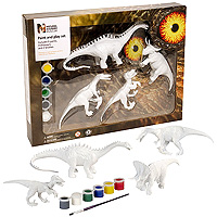 Paint & Play Set - Dino 2