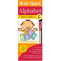 Brain Quest Write & Erase Set - Alphabet