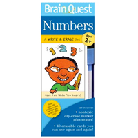 Brain Quest Write & Erase Set - Numbers