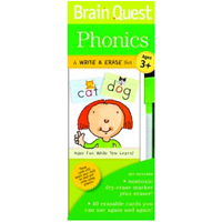 Brain Quest Write & Erase Set - Phonics