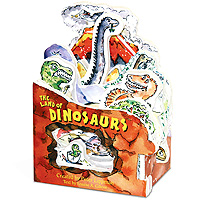Mini House Book - The Land of Dinosaurs