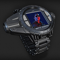 Spy Gear Tri-Optics Video Watch