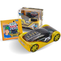 Speedster Race Car with Story Book