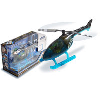 Apex Police Helicopter with Story Book & Transmitter