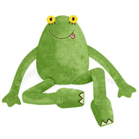 Big Frog 14 inch Plush Toy