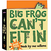 Big Frog Can't Fit In Hardcover Book