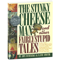 The Stinky Cheese Man Hardcover Book
