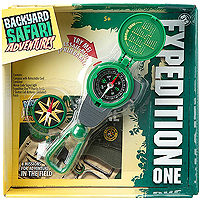 Backyard Safari Expedition One- 3-in-1 Compass Tool