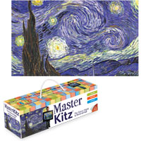 MasterKitz - The Starry Night by Vincent Van Gogh