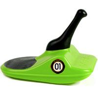 ZIPFY Freestyle Mini Luge - Green