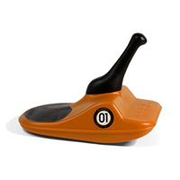 Zipfy Freestyle Mini Luge - Orange