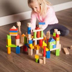 TimberBlocks - 100 Piece Wooden Block Set