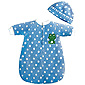 PlayTime Baby 2 pc Bunting Set - Blue
