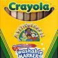 8 ct. Multicultural Washable Markers - Broad Line