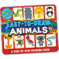 Easy-to-Draw Animals: A Step-By-Step Drawing Book