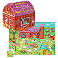 Barnyard Double Fun Puzzle 48 pc