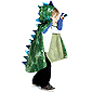 Green Dragon Cape with Claws - Medium