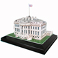 3D White House Puzzle with LED
