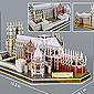 Westminster Abbey 3D Puzzle with Booklet - 145 pc