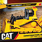 CAT Bulldozer with Lights, Sounds & Figure