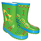 Paint Your Wellies - Green