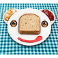 Spreddy Bear Sandwich Plate