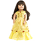 Doll Dress Yellow Beauty