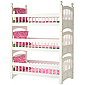Hot Pink & Green Apple Linen Set for Triple Bunk Bed