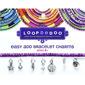 Loopdedoo Easy Add Bracelet Charm - Peace & Happiness