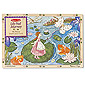 Lily Pad Journey - 96 piece Wooden Jigsaw Puzzle
