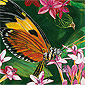 Butterfly Perch - 100 piece Jigsaw Puzzle