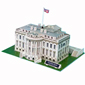 3D Puzzle White House - 64 pcs