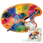 Puzzle Shapes - Artist Palette - 500 pc