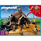 Playmobil Stone Age - Mammoth Skeleton Tent with Cavemen