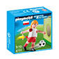 Playmobil Soccer Player - Poland