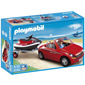 Playmobil Harbor - Red Convertible with Personal Watercraft
