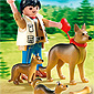 Playmobil Dog Breeds - German Shepherd with Puppies