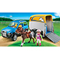 Playmobil Pony Ranch - SUV with Horse Trailer