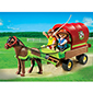 Playmobil Pony Ranch - Children's Pony Wagon