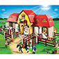 Playmobil Pony Ranch - Large Horse Farm with Paddock
