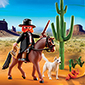 Playmobil Western - Sheriff with Horse