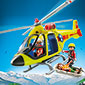 Playmobil Mountain Life - Mountain Rescue Helicopter