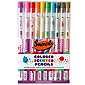 Color Smencils 10 Pack - Colored Scented Pencils