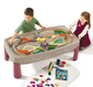 Deluxe Canyon Rd Train & Track Table with Lid