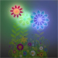 Flower Garden Light Dance