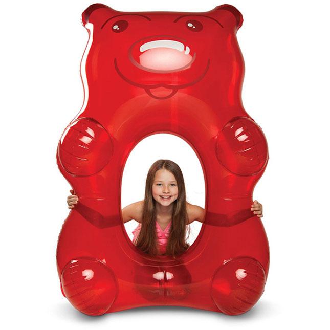 Giant Gummy Bear Pool Float Fat Brain Toys