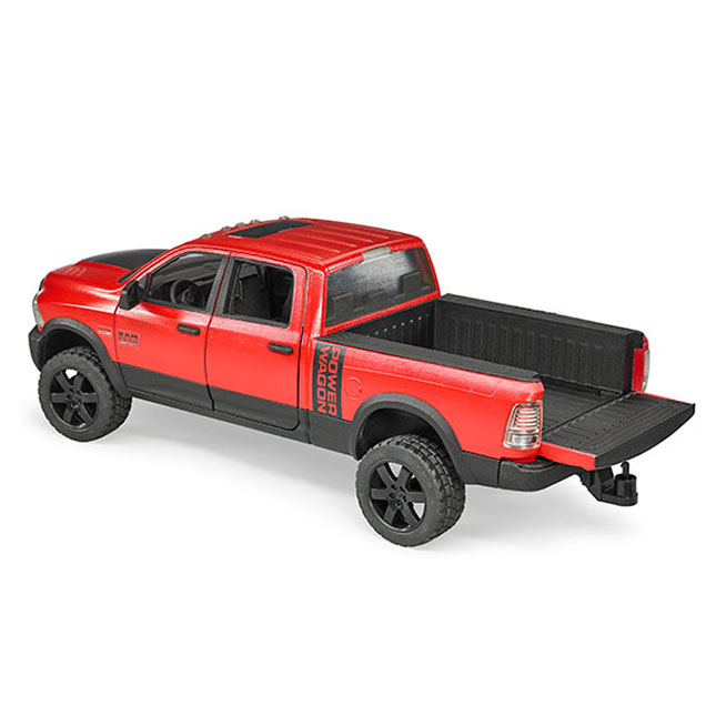 bruder ram 2500 pickup toy truck. Black Bedroom Furniture Sets. Home Design Ideas